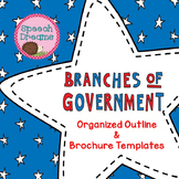 Branches of the Government Brochure Template Outline
