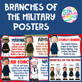 Branches of the Military Posters (Memorial Day and Veteran's Day)