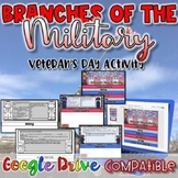 Veteran's Day Activity:  Branches of the Military {DIgital AND Paper}