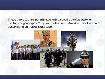 Branches of the US Military (Government, Civics, Veterans) PPT