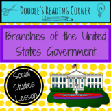 Branches of the US Government Reading Passage #kindnessnation