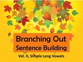 #backtoschool Preprinted Branching Out Sentence Building V