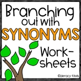 Synonyms No Prep Printables