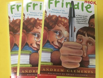"""Brand NEW """"Frindle"""" books, by Andrew Clements  - Literature Circle Set"""