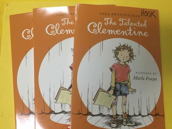 """Brand NEW """"The Talented Clementine"""" books, by Pennypacker- Literature Circle Set"""