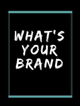 Brand Advertising Poster