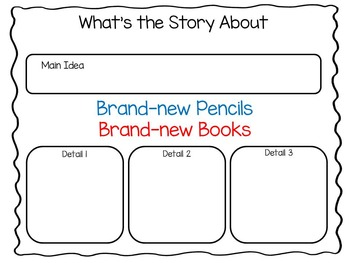 Brand-new Pencils   Brand-new Books 40 pgs. of Common Core Activities
