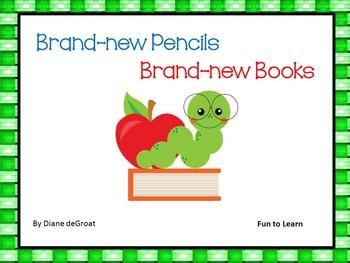 Brand-new Pencils   Brand-new Books 40 pgs. of Common Core Activities