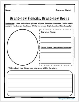 Brand-new Pencils, Brand-new Books Intermediate Activity Packet