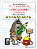 Brand-new Pencils, Brand-new Books Primary Activity Packet