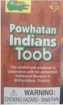 Brand new Powhatan Indian Toob