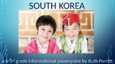 K-3rd grade South Korea powerpoint {Newly edited!} :)