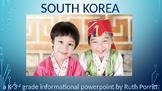 K-3rd grade South Korea powerpoint