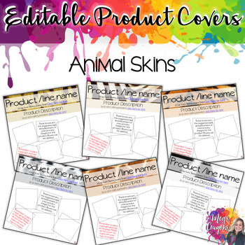 Branded Covers-Animal Print