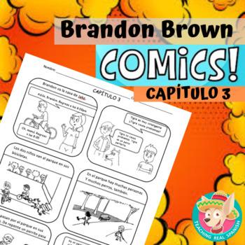 Brandon Brown Quiere un perro: Comic Chapter 3