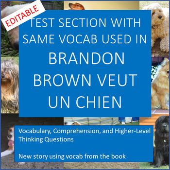 Brandon Brown Veut un Chien test section