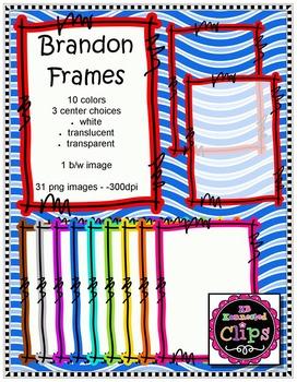 Brandon Frames - 10 colors!