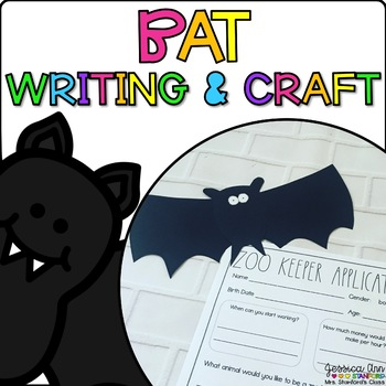 Brandon the Bat {Animal Craftivity and Writing Prompts!}
