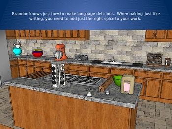 Brandon the Synonym Baker - Synonym Language Instruction