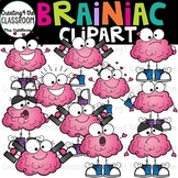 Brainiac Clipart {Brain Clipart}