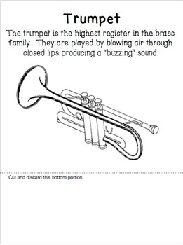 Brass Family Cascading Flip Book