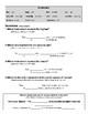 Brass Family ELL Worksheet