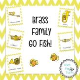 Music Go Fish/matching - Brass Family