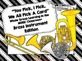 Brass Family: You Pick, I Pick, We All Pick A Card: Whole