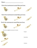 Brass Instrument Sounds Worksheet