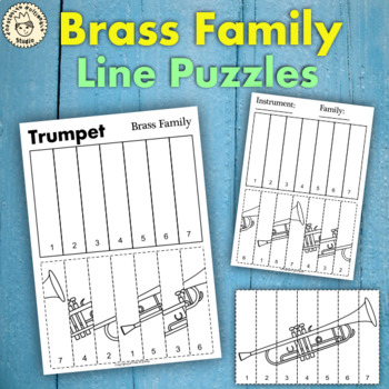 Brass Instruments Line Puzzles