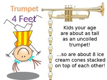 Brass Instruments interactive activities