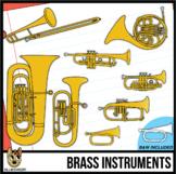 Brass Musical Instruments Clip Art