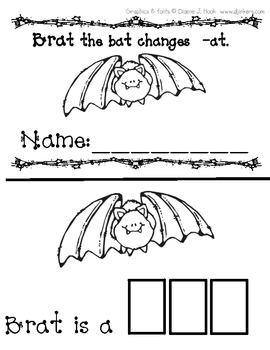 Brat the bat changes -at
