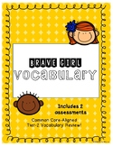 Brave Girl Vocabulary