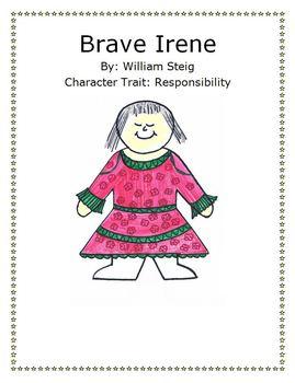 Brave Irene Activity by William Steig