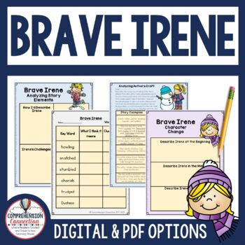 Brave Irene Reading and Writing Set
