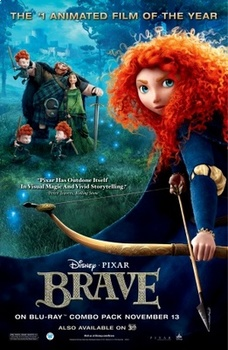 Brave Movie Guide in ENGLISH. Movie Questions. Heroes, Fate, Traditions, Legends
