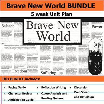Brave New World Unit Bundle
