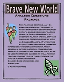 Brave New World Analysis Question Package