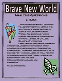 Brave New World Analysis Questions p. 3-56