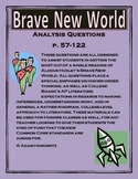 Brave New World Analysis Questions p. 57-122