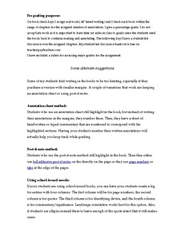 Brave New World Annotation Guide