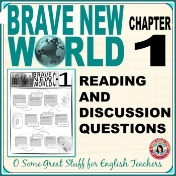 Brave New World Chapter 1 Fertilization Flow Chart and Questions with Key