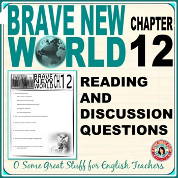 Brave New World Chapter 12 Activities for Reading and Discussion with Key