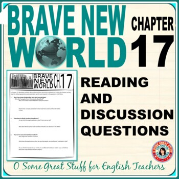 Brave New World Chapter 17 Comprehension and Analysis Activity