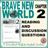 Brave New World Chapter 2 Questions for Comprehension and Analysis with Key