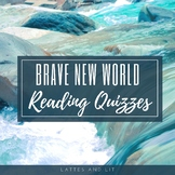 Brave New World Reading Quiz Sets - Whole Novel  (With Key)