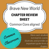 Brave New World Chapter Review Activity