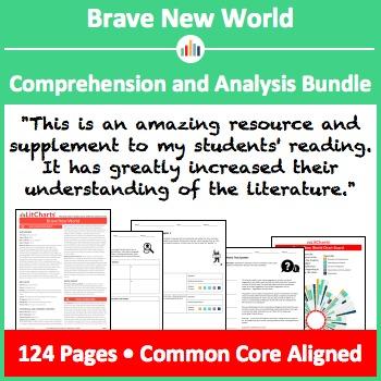 Brave New World - Comprehension and Analysis Bundle