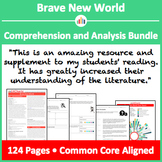 Brave New World - Comprehension and Analysis Bundle